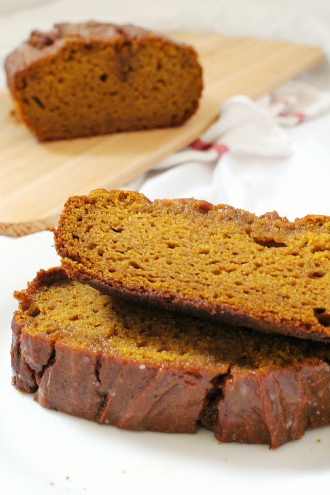 Gluten Free Delicious Pumpkin Loaf