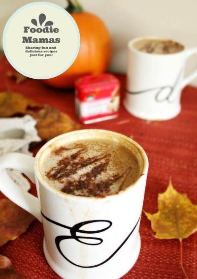 Homemade Vegan Pumpkin Spice Latte #Foodiemamas