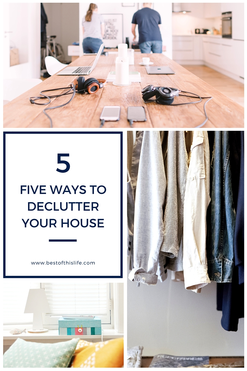 Five Ways To Declutter Your House