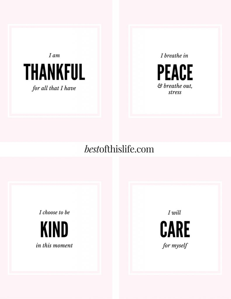 Positive reminders for stressful days www.bestofthislife.com