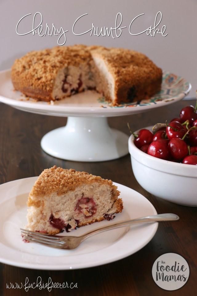 Cherry Vanilla Cake