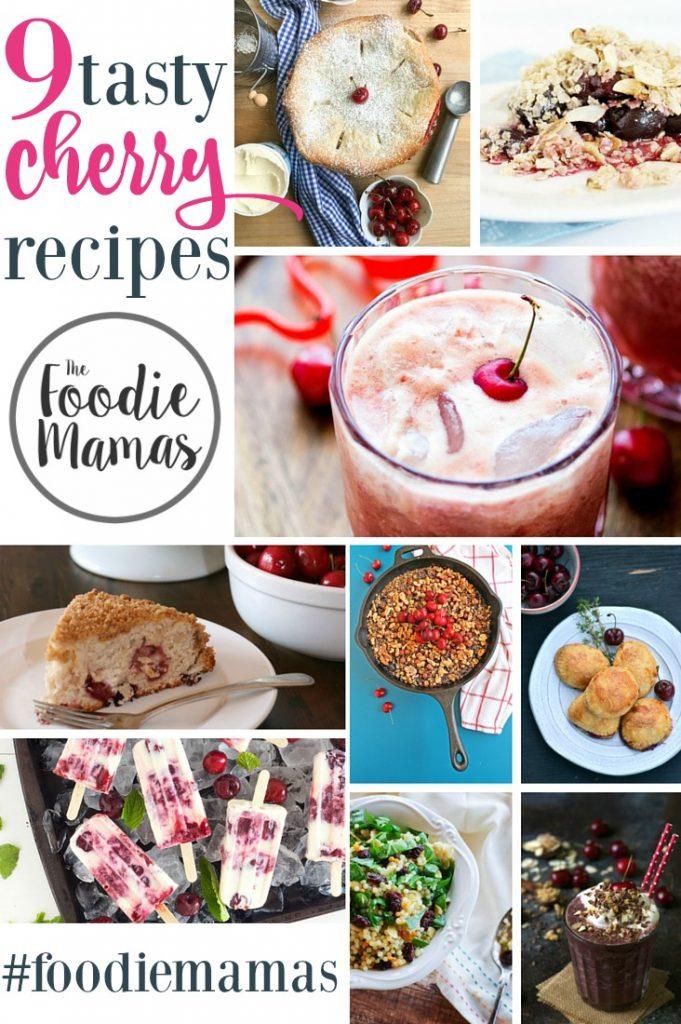 Pinterest Cherry Roundup #FoodieMamas