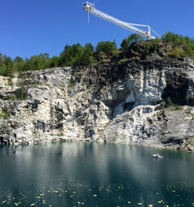 Leap of Faith at Great Canadian Bungee