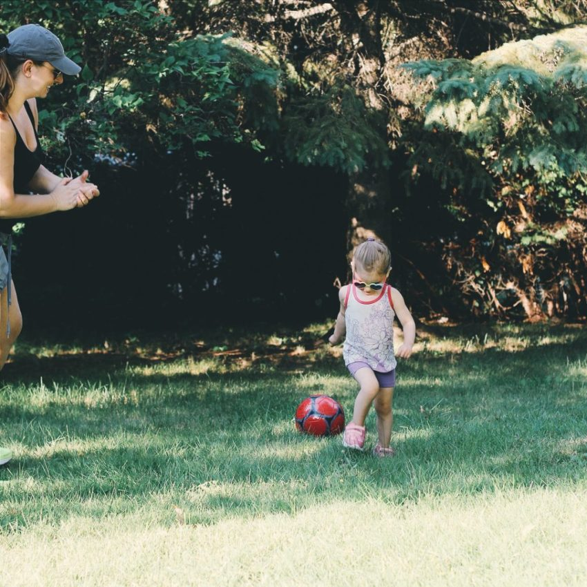 I want my daughter to always play sports like a girl
