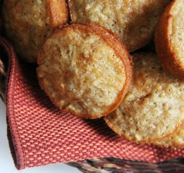 Gluten-Free Apple Spice Snacking Muffins