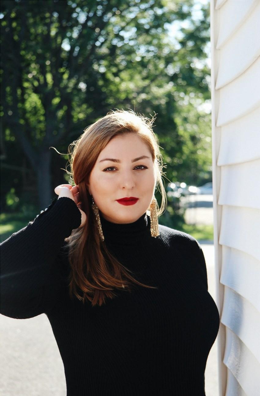 Fall Makeup - bold, deep red lips bestofthislife.com