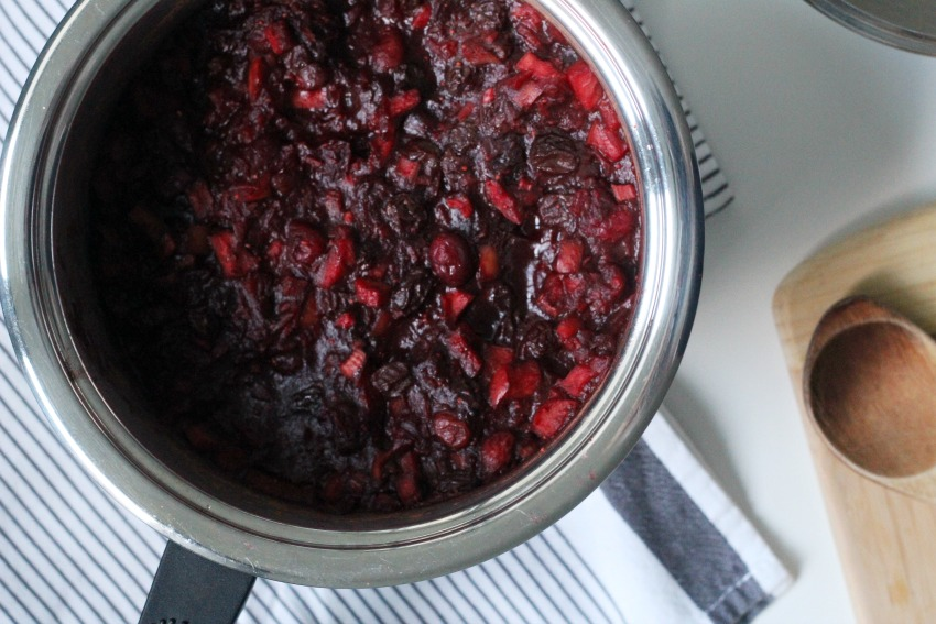 Homemade Cranberry Chutney