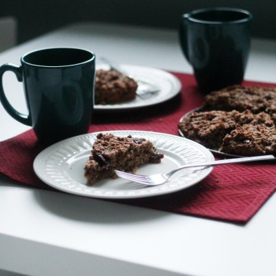 Positively Scrumptious Oatmeal Cherry Scones From My Mom's Happy Kitchen
