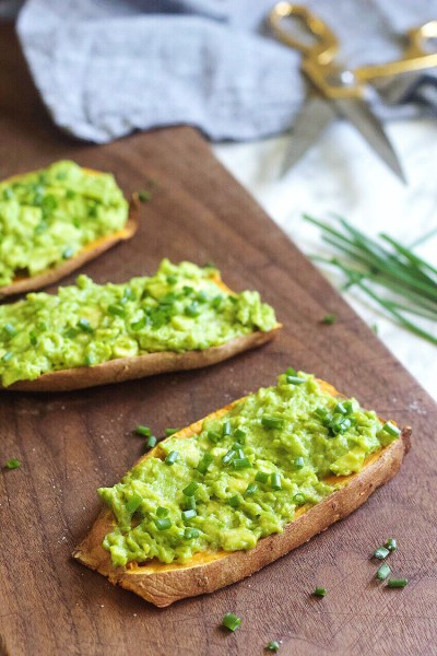 Simple and Healthy Sweet Potato Toast With Avocado