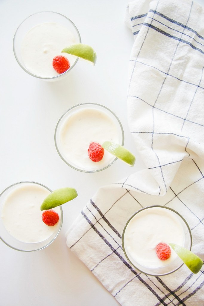 keto lime mousse