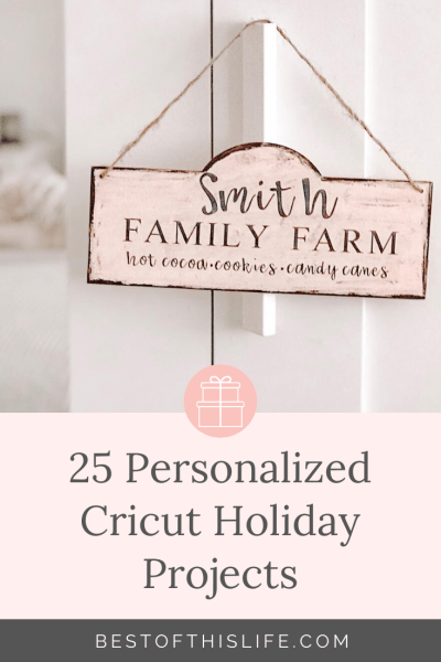 Cricut Holiday Projects