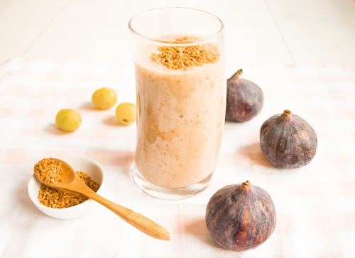Delicious Fig Smoothie to Boost Your Immunity