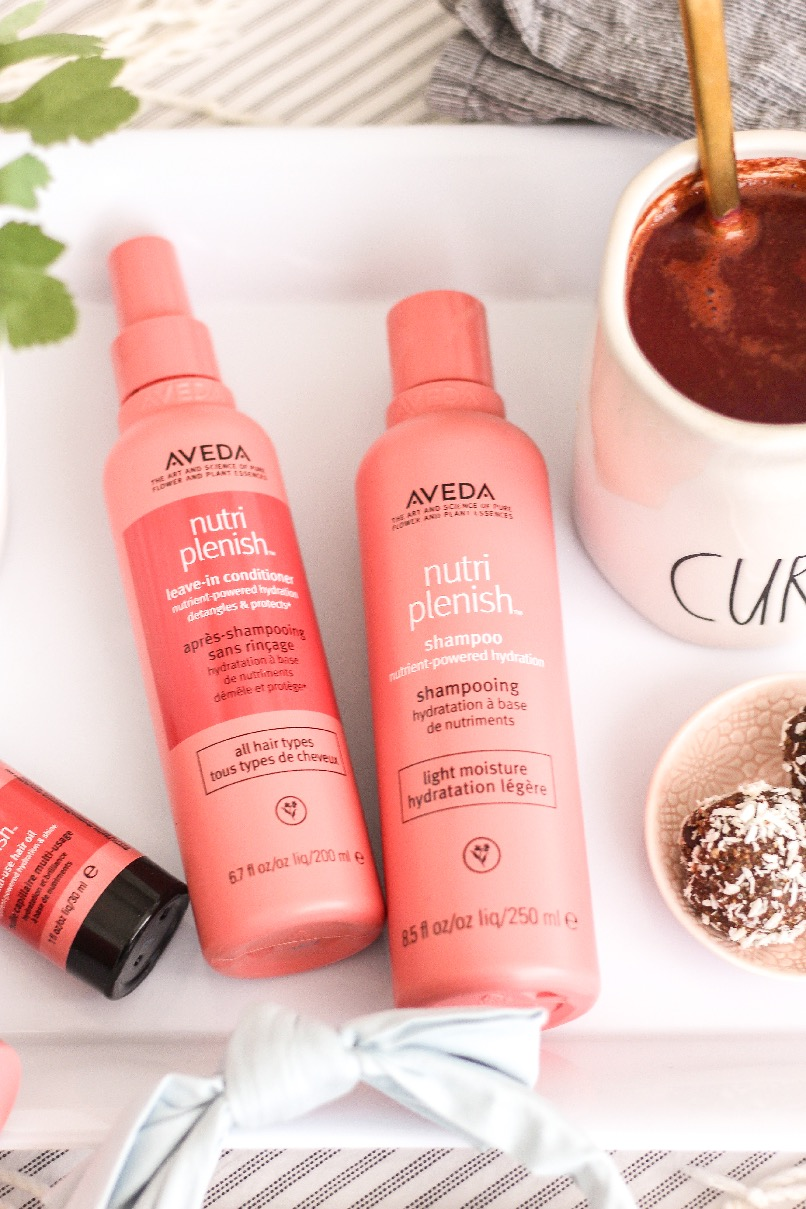 Aveda Nutriplenish Hair Care Collection