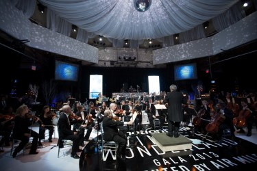 44 piece Symphony Orchestra Photo: Gus