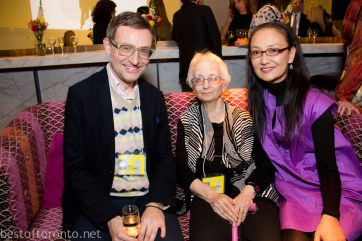 Bill Clarke, Dorothy Vogel, Megumi Sasaki