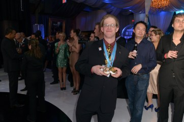 Troy with his medals Photo: Steve Blackburn