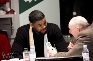 Amir Johnson, Toronto Raptors forward-center