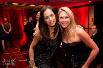 left: Chantal Kreviazuk