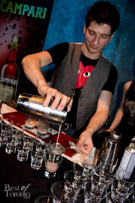 "Rob Renda, BartenderOne and College Street Bar ""Over-'C's"""