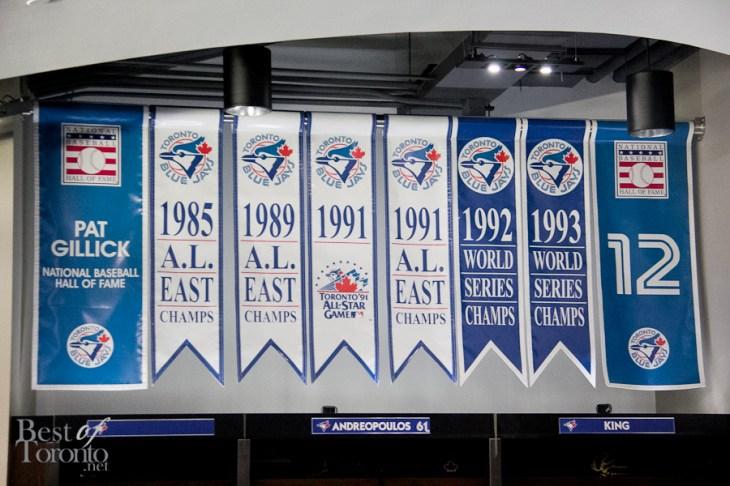 Inside the Blue Jays locker room