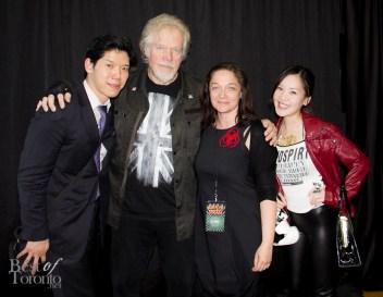 Nick, Randy Bachman, guest, Tanya Hsu