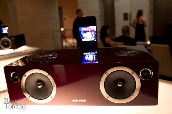 Samsung Listening Lounge