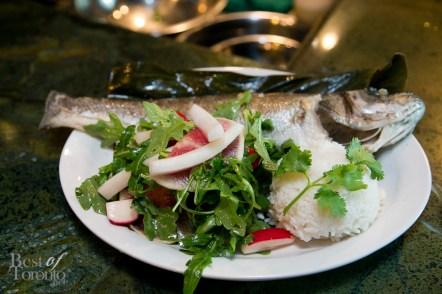 Check out this fresh fish dish
