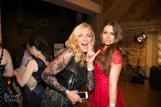 Shannon Tweed, Sophie Simmons at the Producers Ball 2013 at the ROM