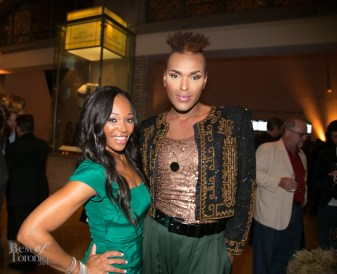 left: Tracy Moore (CityLine)