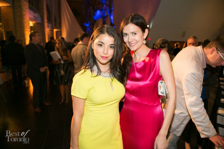 left: Nicole Munoz (Defiance) at Producers Ball at the ROM
