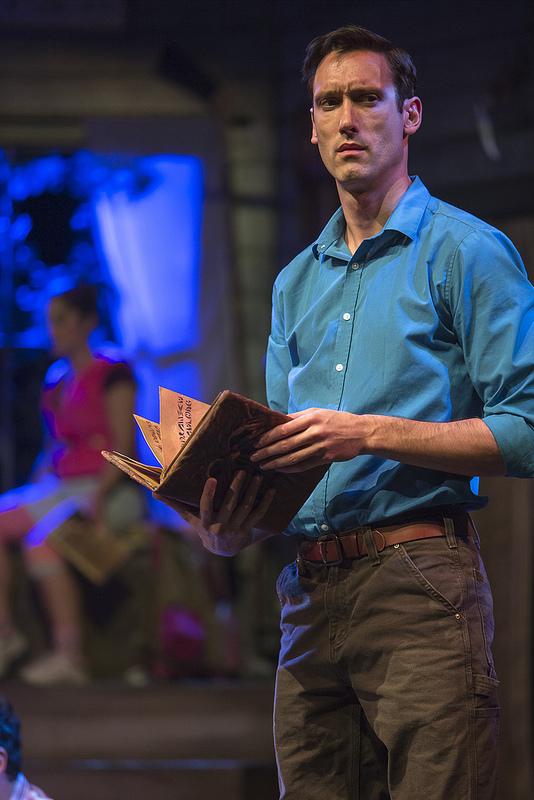 Ryan Ward as Ash | Photo: David Hou