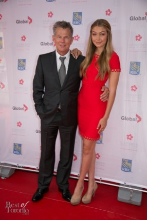 David Foster and his daughter