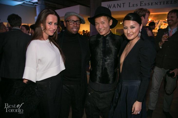 middle: Kirk Pickersgill, Stephen Wong (Greta Constantine)