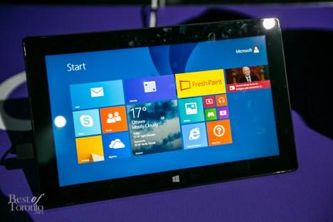 The Microsoft Surface 2 Photo: John Tan