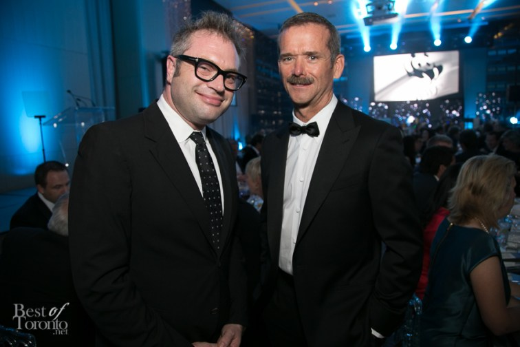 Steven Page, Chris Hadfield