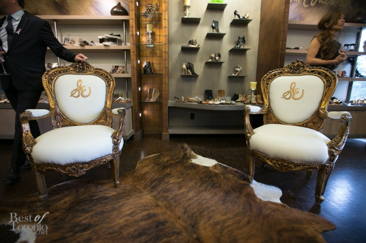 The Sam Edelman showroom