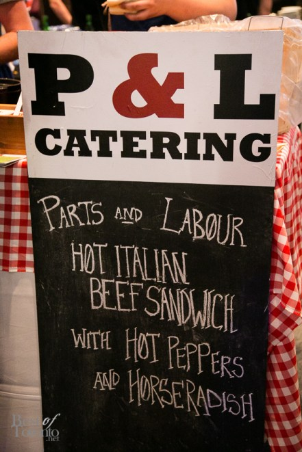 Parts and Labour had an amazing Hot Italian Beef sandwich