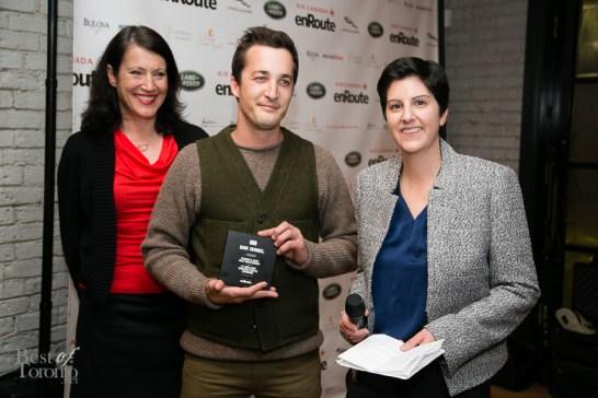 Bar Isabel, taking top honours in enRoute Magazine's Best New Restaurants