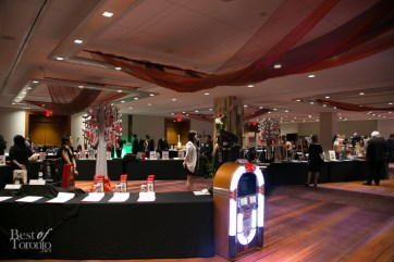 Grand silent auction room