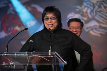 Chef Alvin Leung on stage