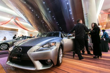 The Grand Prize Lexus IS250 RWD valued at $45,000