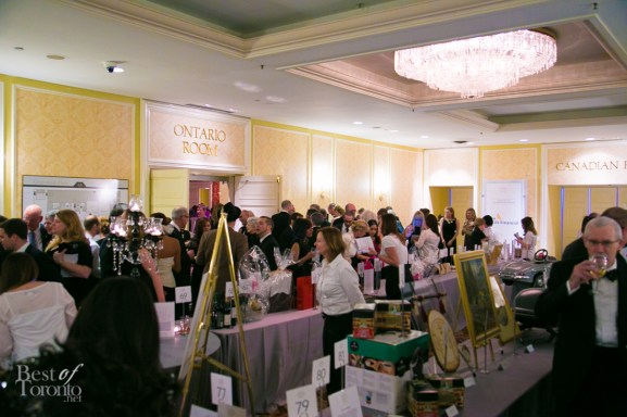 Silent auction items up for bid