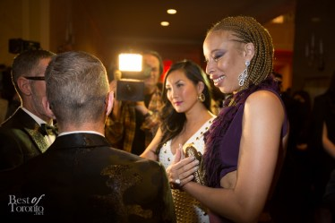 D Squared being interviewed by Tanya Kim with Stacy McKenzie