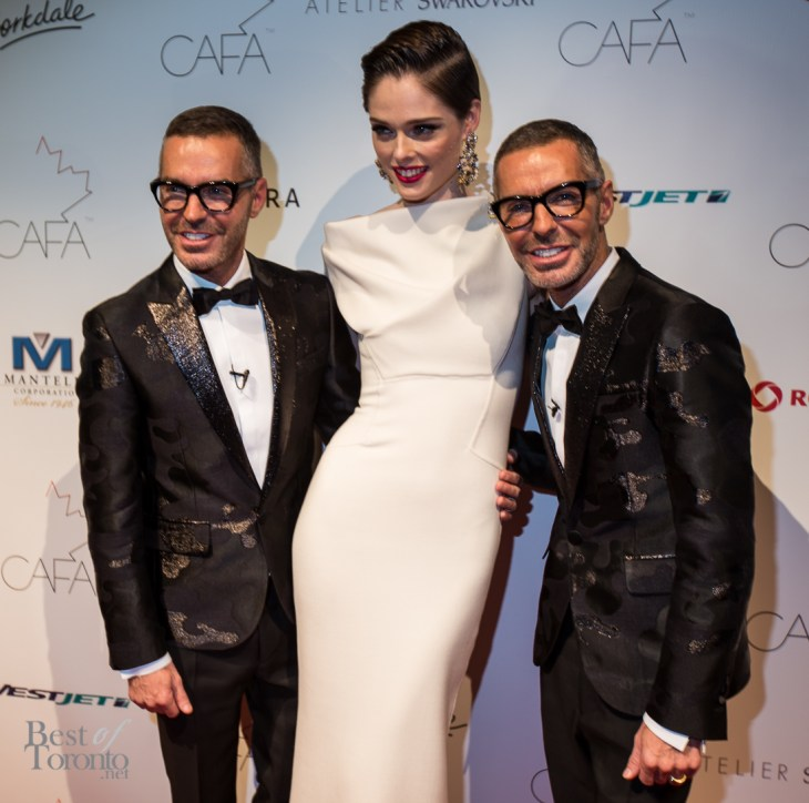 Coco Rocha with D Squared