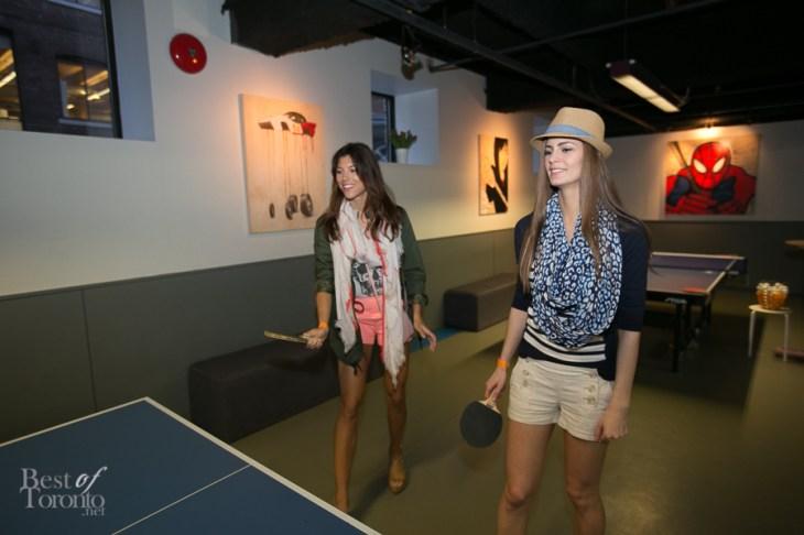Ping pong models