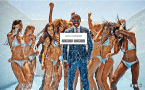 """The SS14 campaign on SuitSupply.com: """"Show Uncensored?"""""""