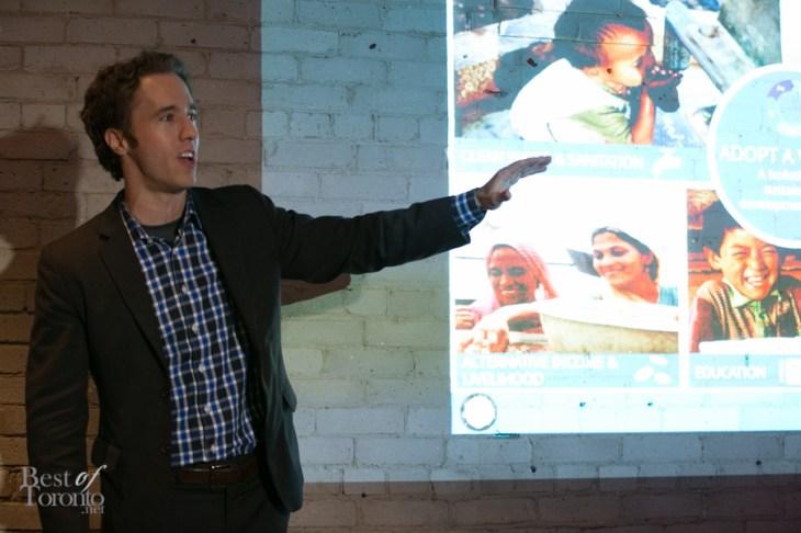 "Craig Kielburger, co-founder of ""Free the Children"""