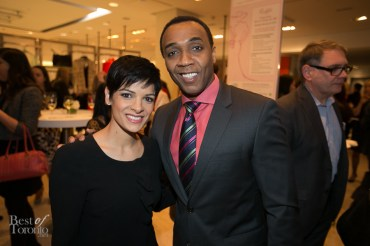 CBC's Anne-Marie Mediwake and Dwight Drummond