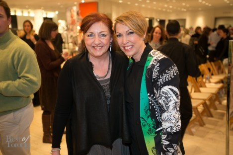 Christina Smith (CEO of Wellspring), Lisa Tant (Fashion Editor, Holt Renfrew)