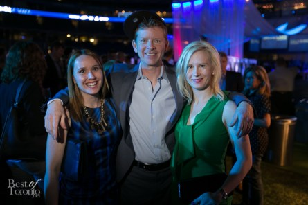 Amy Dodds, Jamie Campbell (Sportsnet), Astrid-Maria Ciarallo